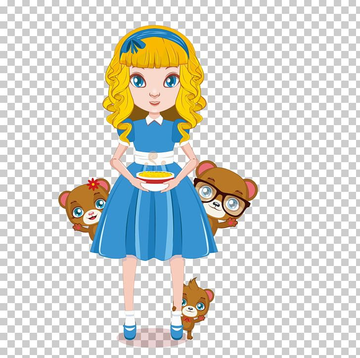 Goldilocks And The Three Bears Euclidean Illustration PNG, Clipart.