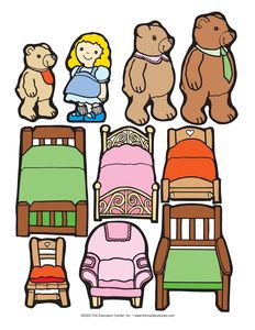 Goldilocks and the three bears clipart 8 » Clipart Station.
