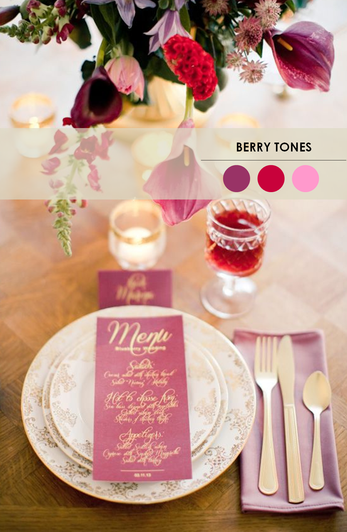 18 Fall Wedding Color Palettes.
