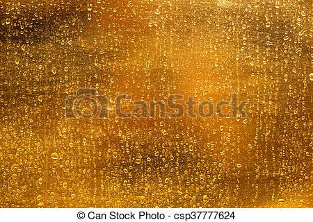 Stock Photo of gold rain background csp37777624.