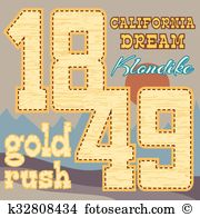 Gold rush Clip Art and Illustration. 64 gold rush clipart vector.