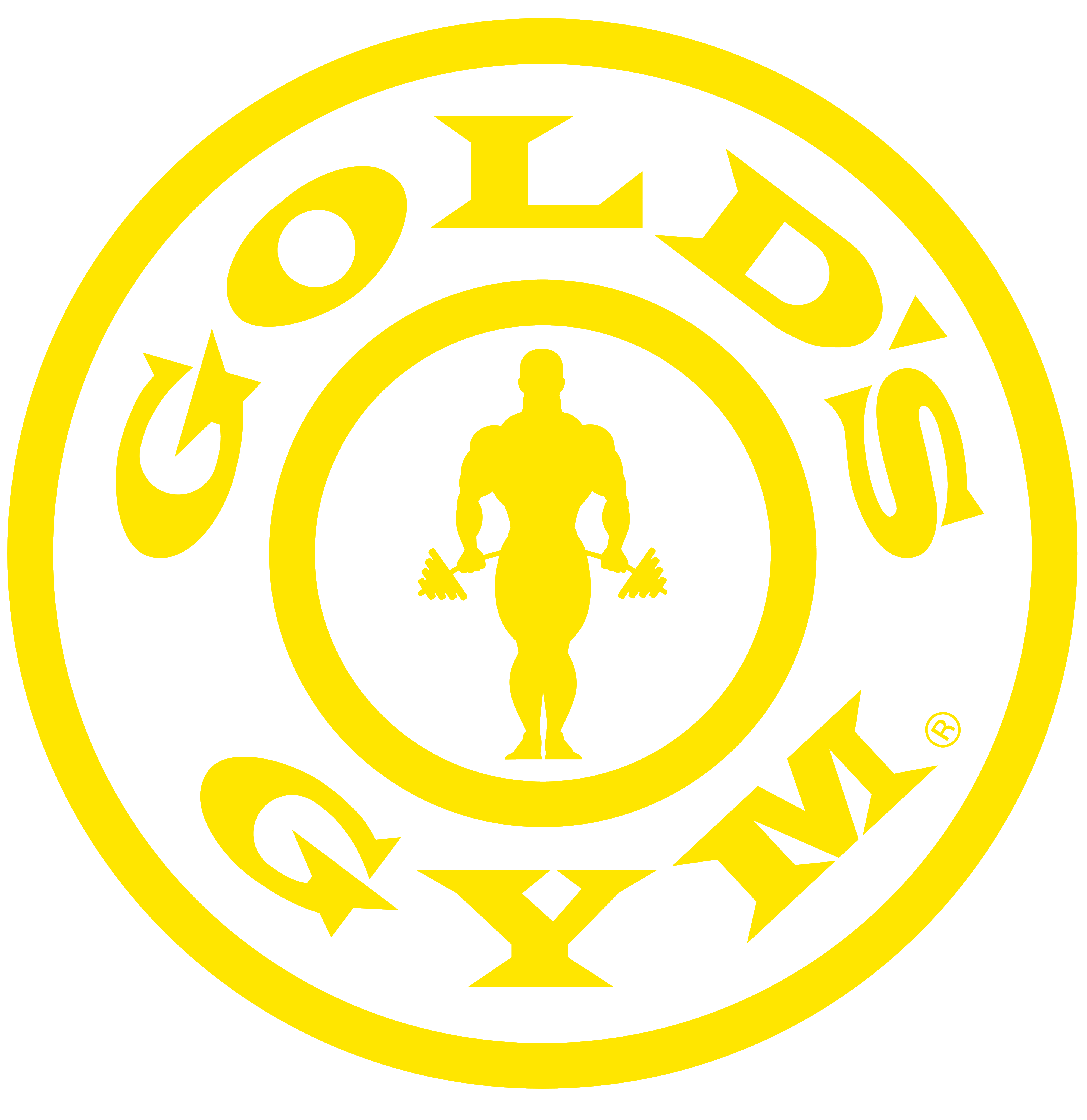 Gold's Gym.