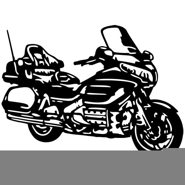 Honda Motorcycle Clipart.