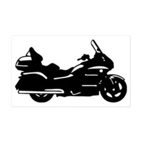 Honda Goldwing GL1800 Silhouette Decal 5.25 x by RockHollowDecals.
