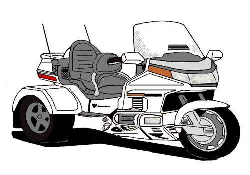 Goldwing motorcycle clipart 1 » Clipart Portal.