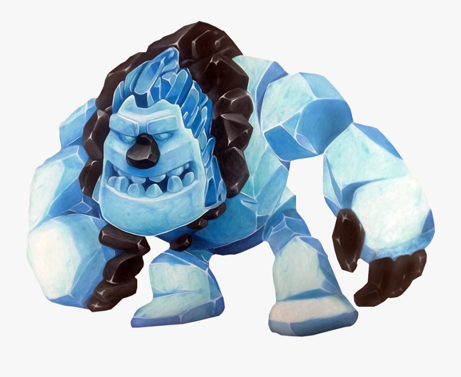 Transparent Clash Of Clans Golem Png.