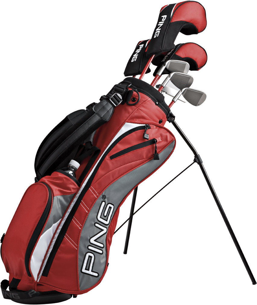 Ping Golf Bag transparent PNG.