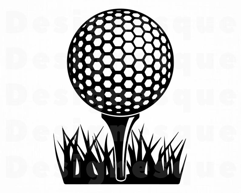 Golf Ball #6 SVG, Golf Ball SVG, Golf Svg, Golf Ball Clipart, Golf Ball  Files for Cricut, Golf Ball Cut Files For Silhouette, Dxf, Png, Eps.