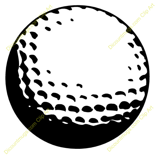 Golf Ball Clipart.