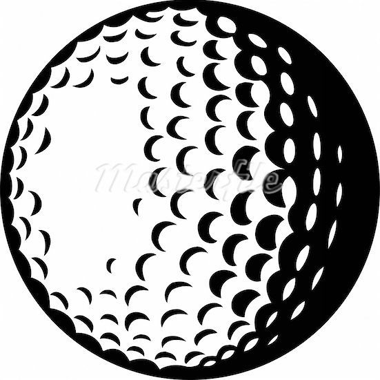 Golf ball clipart black and white 6 » Clipart Station.