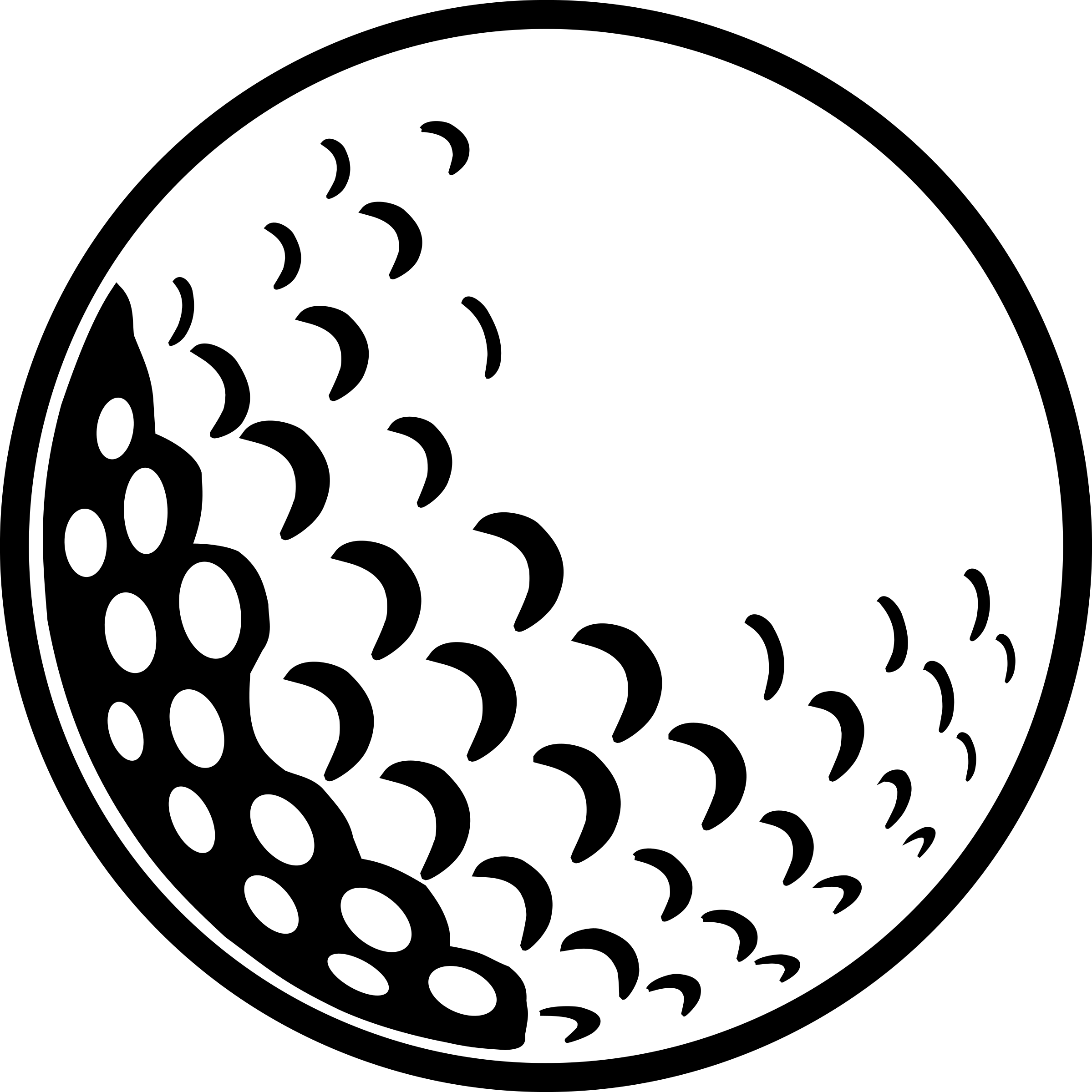Golf Ball Vector at GetDrawings.com.