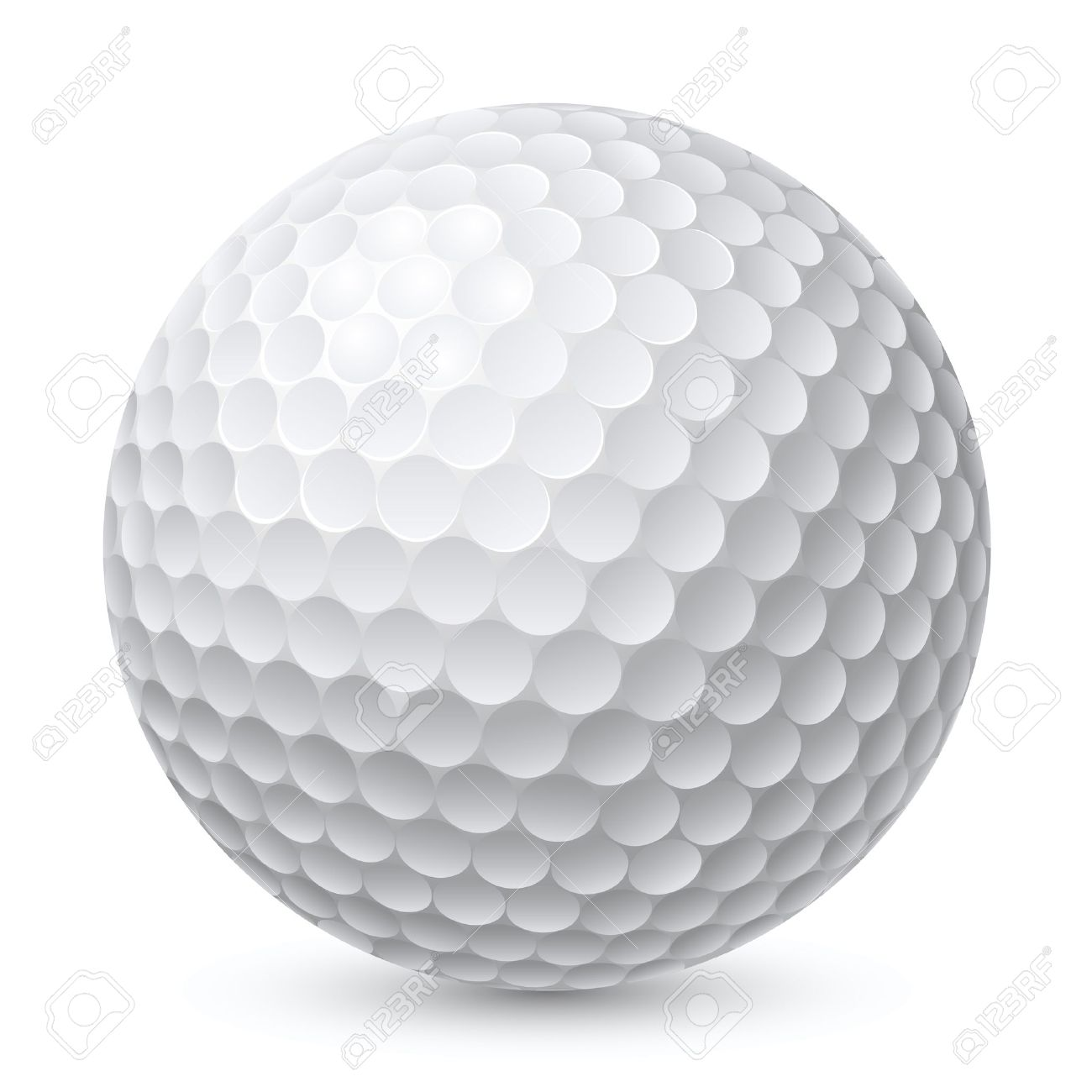 Golf Ball Clipart No Background.