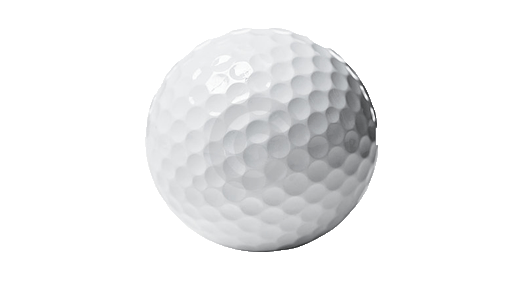 Golf Ball transparent PNG.