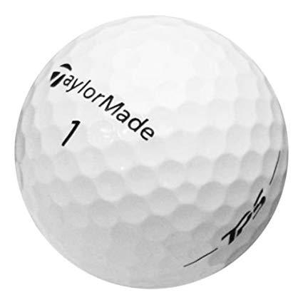 1 Dozen Taylor Made TP5 2017 Mint 5A No Logo, No Pen Marks Golf Balls.