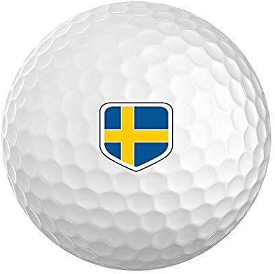 New Tour Soft Personalized National Flag Logo Golf Balls.