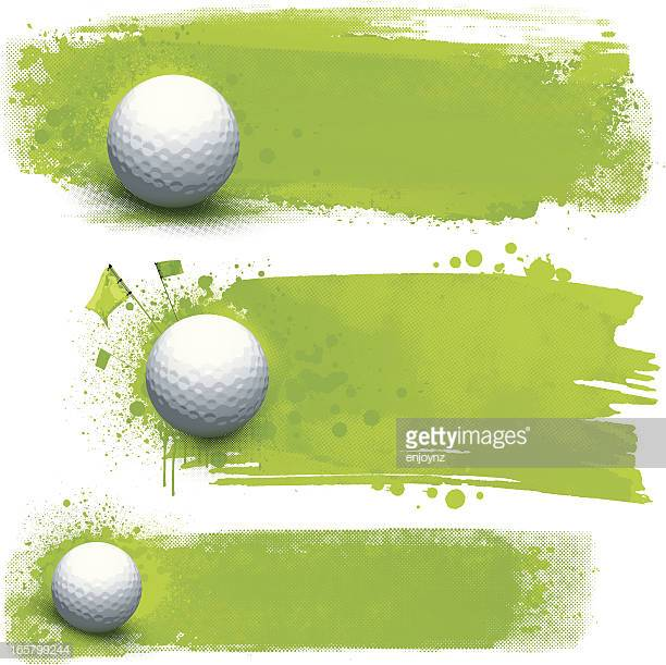 60 Top Green Golf Course Stock Illustrations, Clip art, Cartoons.