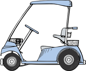 Golf Cart Clip Art at Clker.com.