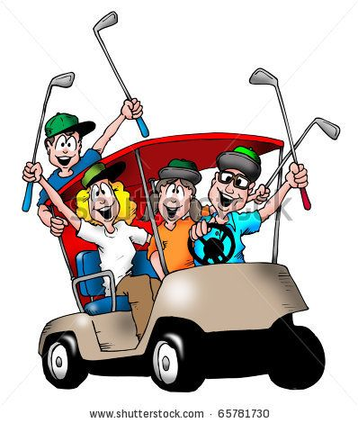 Golf Cart Cartoon Drawing at GetDrawings.com.