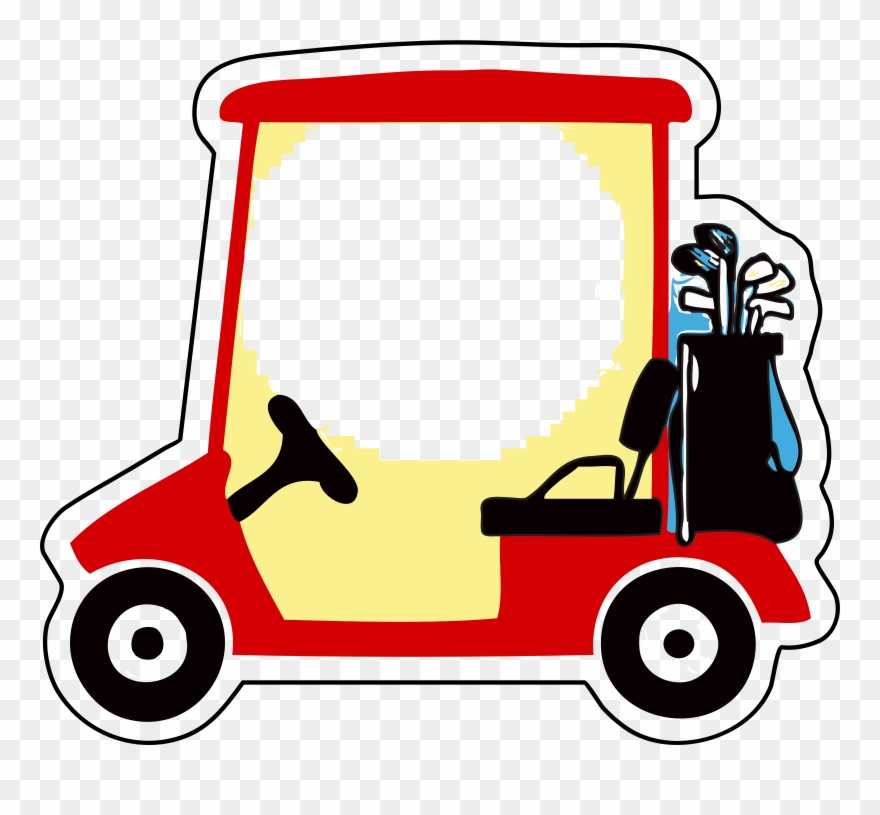 Golf Buggies Golf Clubs Golf Balls Cart.
