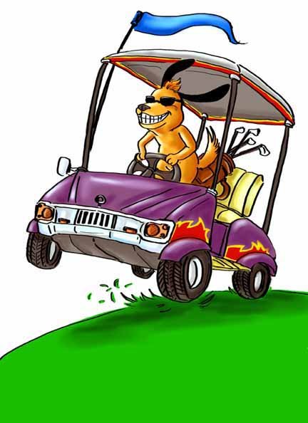 golf cart clip art. golf cart size 38 kb from transportation.