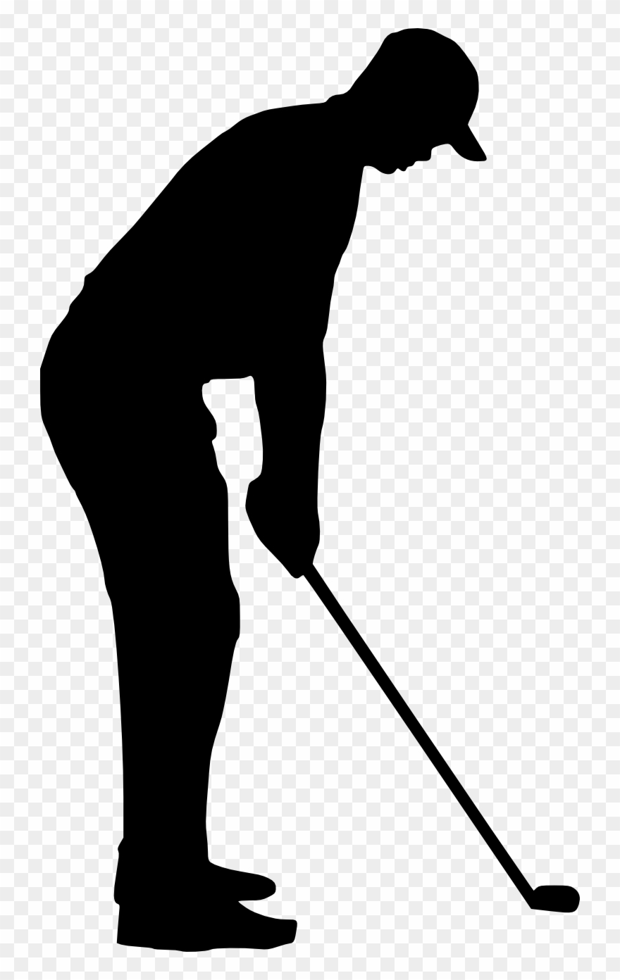Golfing Clipart Retro Sport.