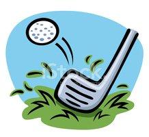 Golf Clipart stock vectors.