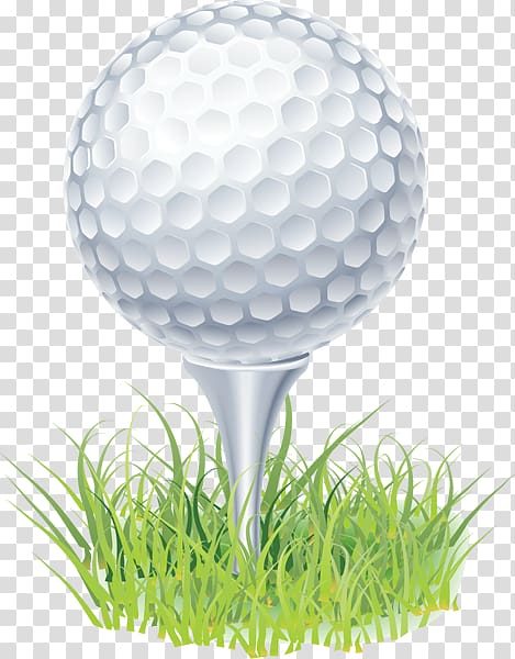 Gray golf ball and pin illustration, Tee Golf ball , Golf.