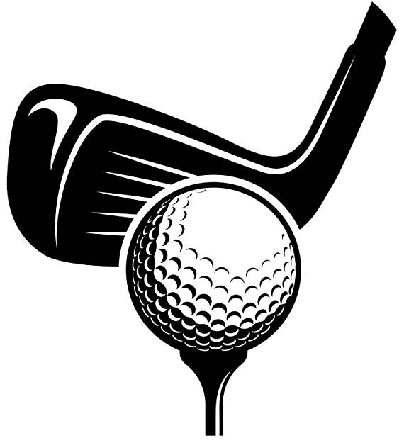 Golf Logo #6 Tournament Clubs Iron Wood Golfer Golfing Sport Course.