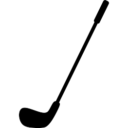 Golf Club Silhouette FREE SVG.