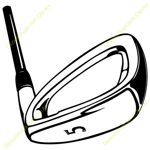 Golf club clipart images.