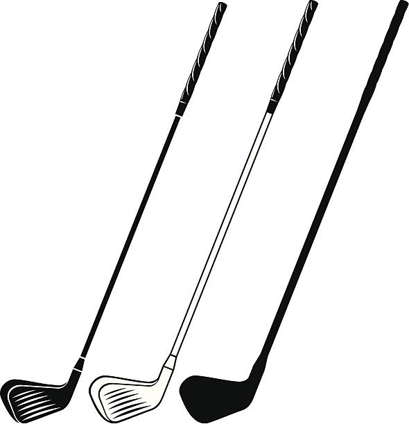 Golf club clipart black and white 5 » Clipart Station.
