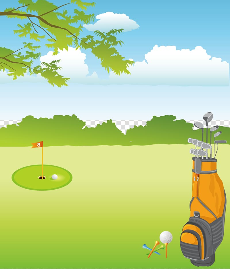 Golf Clubs Golf course Golf equipment, Golf transparent background.