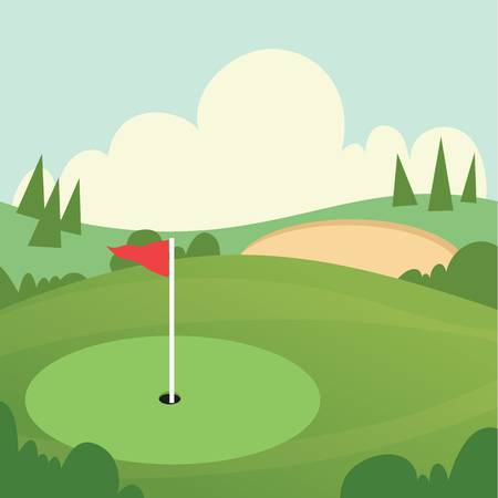 8,861 Golf Course Cliparts, Stock Vector And Royalty Free Golf.