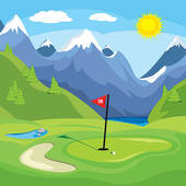 Golf course Illustrations and Stock Art. 1,427 golf course.