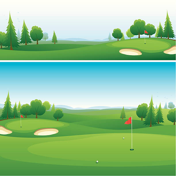 4324 Golf free clipart.