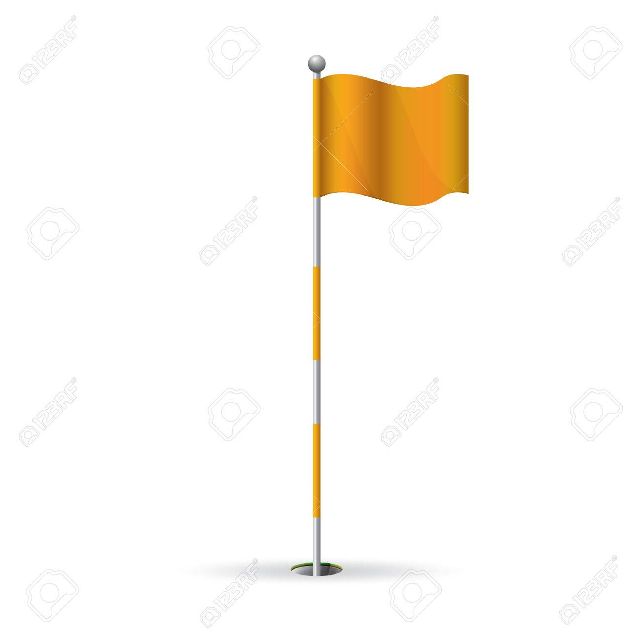 golf flag stick.
