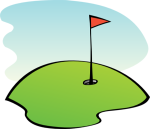 Golf day clipart.