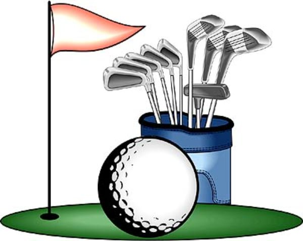 Golf graphics clip art.