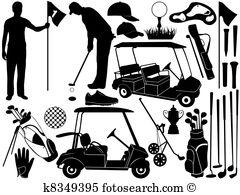 Golf glove Clip Art and Stock Illustrations. 132 golf glove EPS.