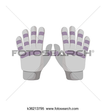 Stock Illustration of Golf glove cartoon icon k36213795.