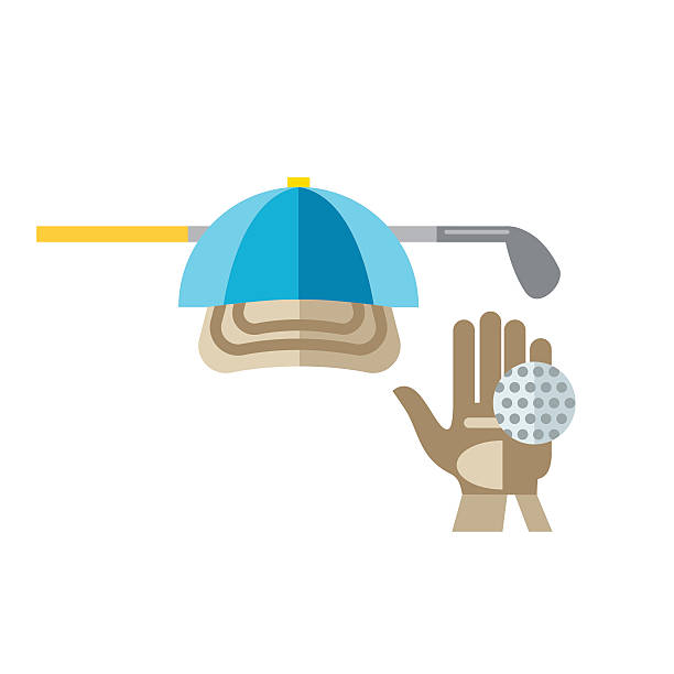 Golf Gloves Clip Art, Vector Images & Illustrations.