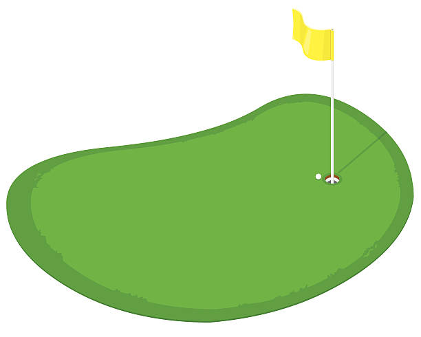 Best Putting Green Illustrations, Royalty.