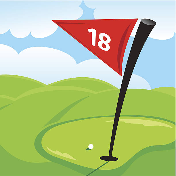 Hole In One Golf Clip Art, Vector Images & Illustrations.