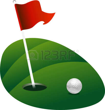6,584 Golf Flag Stock Vector Illustration And Royalty Free Golf.