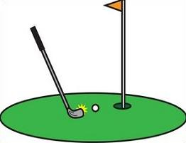 Golf Putting Green Clip Art.