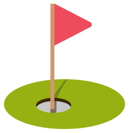 5,485 Golf Hole Flag Stock Illustrations, Cliparts And Royalty Free.