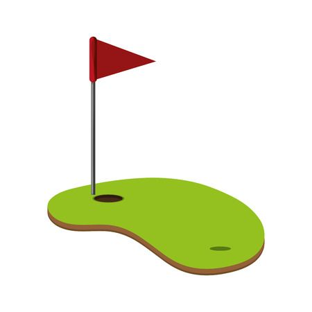 417 Hole In One Golf Stock Vector Illustration And Royalty Free Hole.
