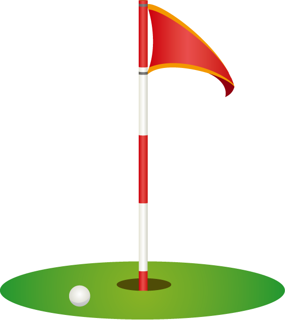 golf hole flag clipart - Clipground Golf Hole Clip Art
