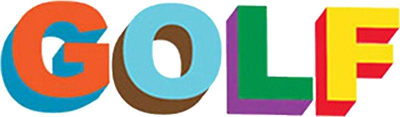GOLF LOGO COLORED TYLER THE CREATOR\' Sticker by Ya YEET in.