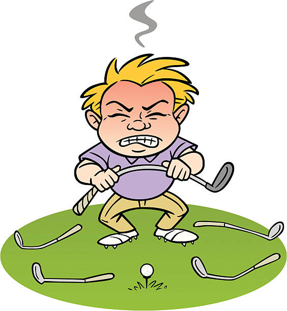 Best Bad Golf Shot Illustrations, Royalty.